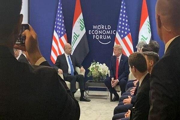 محتوای دیدار «برهم صالح» و «ترامپ» چه بود؟