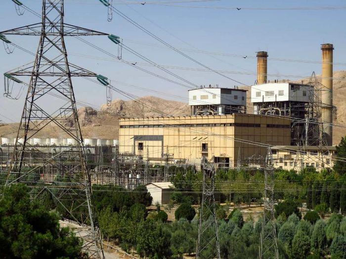تولید بیش از ۳۵۱ میلیون کیلووات برق در نیروگاه اصفهان