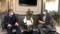 دیدار استاندار آذربایجانغربی با مدیرعامل هواپیمایی جمهوری اسلامی ایران