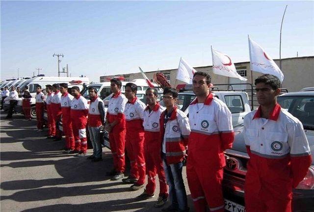 آماده باش کامل هشت تیم عملیاتی هلال احمر کردستان