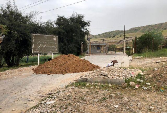 مسدود شدن مسیرهای منتهی به اماکن گردشگری شهرستان های مسجدسلیمان و شوشتر - لالی و اندیکا
