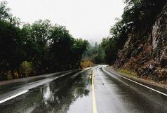جادههای بارانی ۸ استان