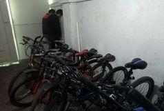 انهدام باند سارقین دوچرخه با 22 فقره سرقت در لاهیجان