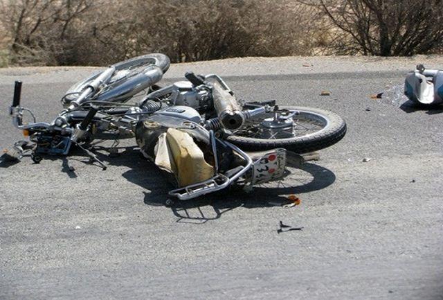 تصادف رانندگی در چرداول ایلام منجر به مرگ یک موتورسوار شد