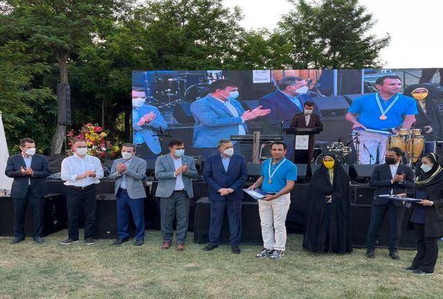 قهرمانی تاریخی گلف باز آذربایجانغربی در مسابقات کشوری