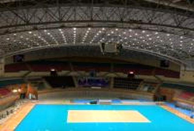 اردبیل آماده میزبانی والیبال امیدهای آسیا