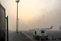 لغو پروازهای فرودگاه آبادان در پی گرد و غبار شدید