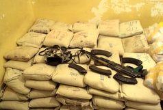 ناکامی قاچاقچیان مسلح در انتقال یک تن و ۴۱۰ کیلوگرم موادمخدر