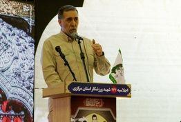 اقتدار ایران در جهان انکارناپذیر است/ انقلاباسلامی ایران حاصلخونپاک ۲۲۲ هزار شهید دفاعمقدس است