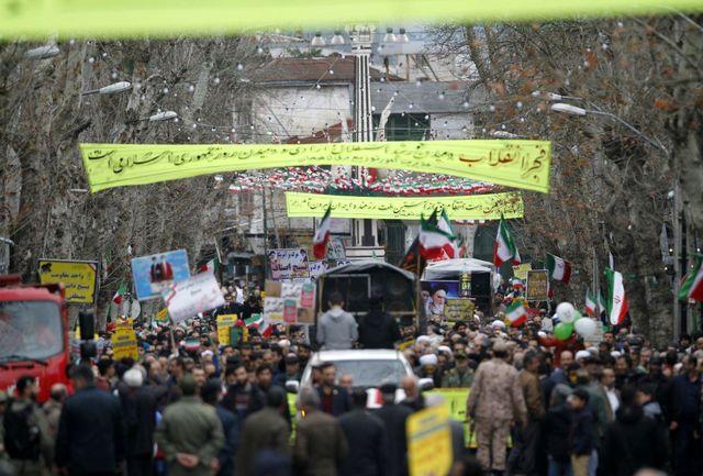 حضور پرشور اقشار مختلف استان اردبیل در راهپیمایی 22 بهمن