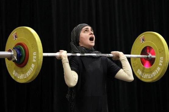 دومین دوره المپیاد استعداد های برتر ورزش کشور در رشته وزنه برداری بانوان