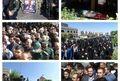 مراسم تشییع پیکر جانباز شهید « فرشید افشار فرد » در شهر پرند برگزار شد