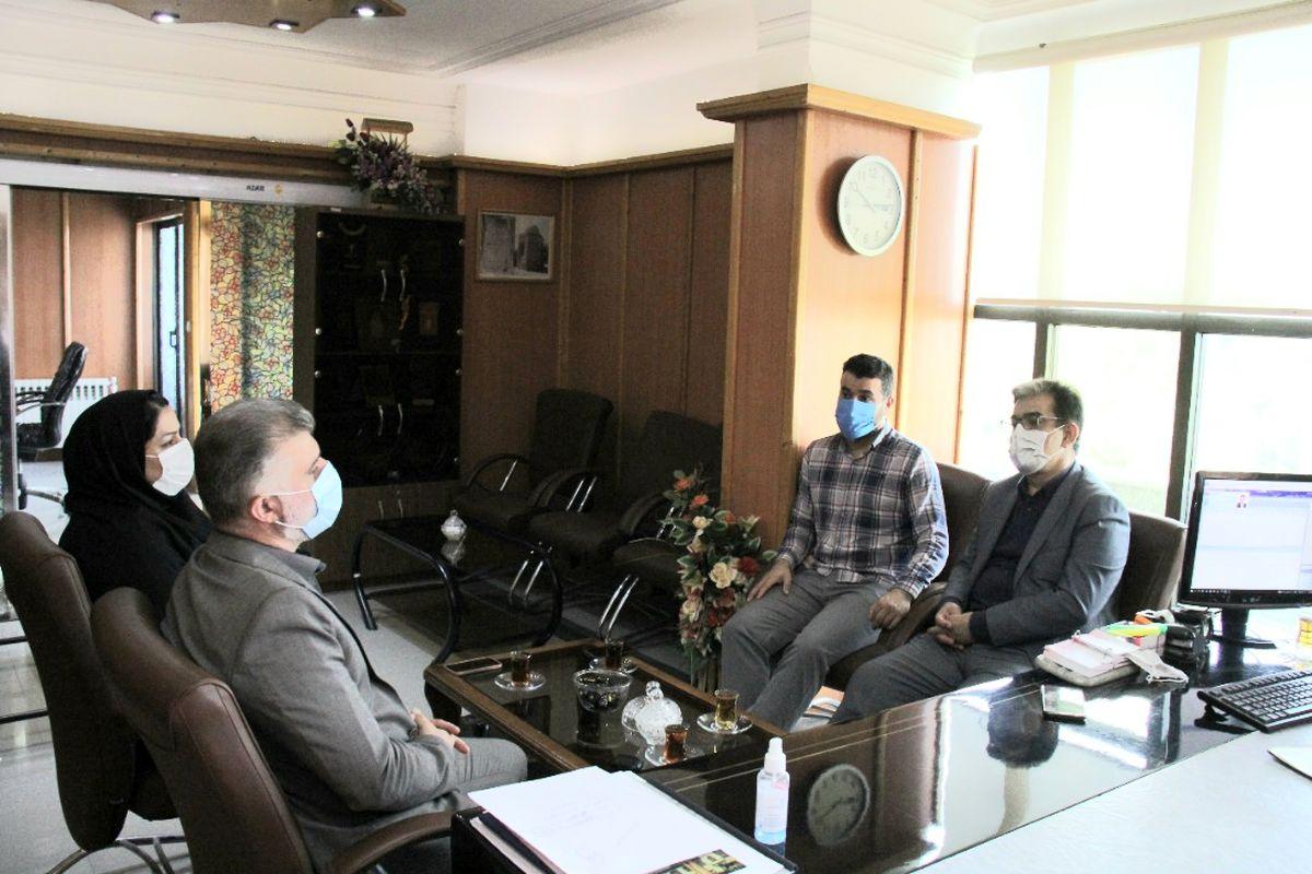 دیدار رییس هیات ورزشهای همگانی گیلان با مدیر کل  فرهنگ و ارشاد اسلامی استان
