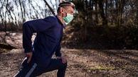 خطر پوشیدن ماسک حین ورزش