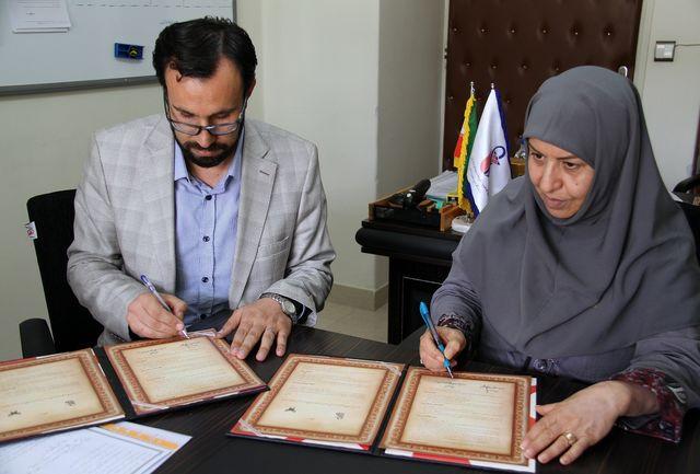 تفاهم نامه همکاری بین دانشگاه آزاد تاکستان و دانشگاه علوم پزشکی امضا شد