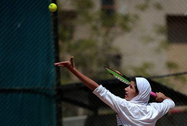 دختران تنیسور ایران نایب قهرمان شدند