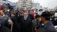 وزیر کشور در راهپیمایی 22 بهمن شرکت کرد