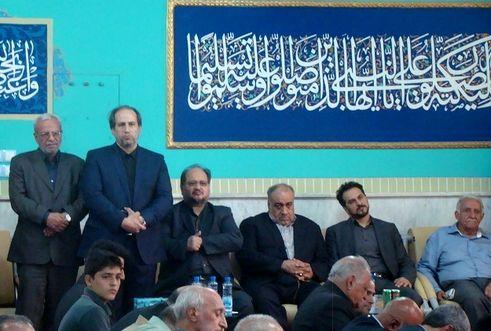 مراسم درگذشت پدر همسر معاون اجرایی رییس جمهوری در خرم آباد برگزار شد