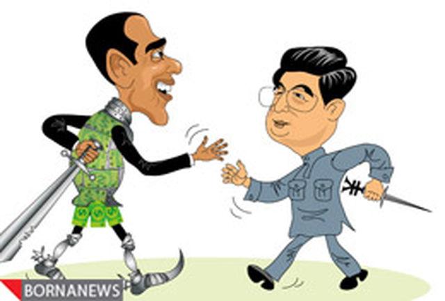 رقابت ین و دلار
