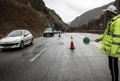 محدودیت تردد در جاده هراز