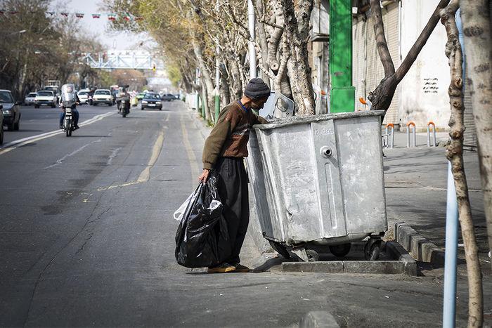 نیروی انتظامی مسئول برخورد با زبالهگردها شد