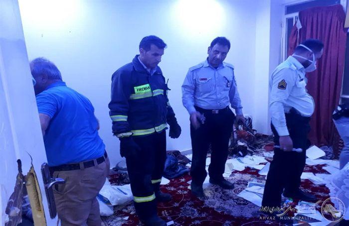 جزییات خودکشی جوان ۲۸ ساله و ماجرای انفجار خانه در اهواز+ببینید