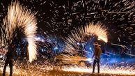 چهارشنبه سوری اصفهان بی حادثه بود/ قدردانی سازمان آتش نشانی و اورژانس از مردم اصفهان