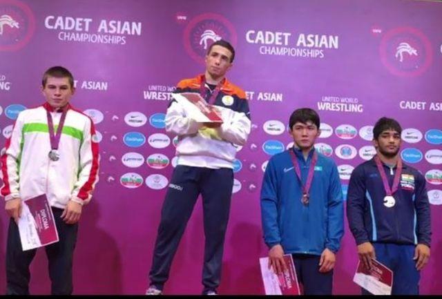 طلایی شدن کشتی گیر خراسانی در مسابقات آسیایی