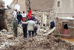 امداد رسانی هلال احمر به 700نفر حادثه دیده از سیلاب در خراسان جنوبی