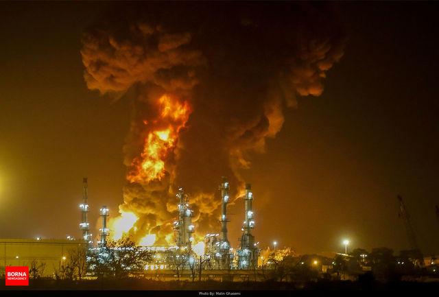 صفر تا صد آتش سوزی پالایشگاه تهران