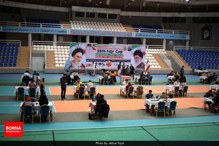 پایان رقابتهای بین المللی شطرنج جام فجر در چابهار