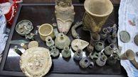 کشف 40 میلیارد اشیاء عتیقه و باستانی و دستگیری یک قاچاقچی در رامهرمز