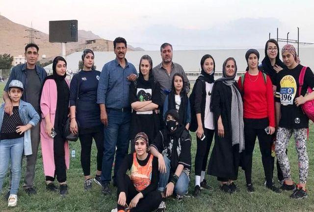 مقام های اول تا ششم به ورامینی ها رسید/ زهرا عرب رستمی رکورد کشور را شکست