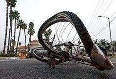 راکب دوچرخه خانم ۴۲ساله از کادر درمان زنجان بر اثر برخورد یک دستگاه پژو ۴۰۵ جان باخت