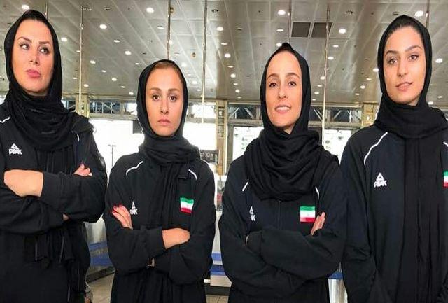 بسکتبال سه نفره بانوان سهمیه قهرمانی آسیا گرفت