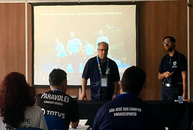 سمینار ورزش معلولین برزیل حرکت جدیدی بود