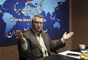 حضور محمد حقانی در خبرگزاری برنا