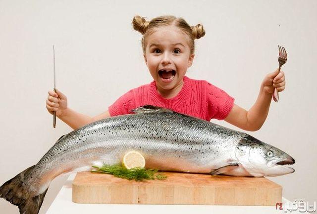 کودکان ماهی بخورند تا خوب بخوابند