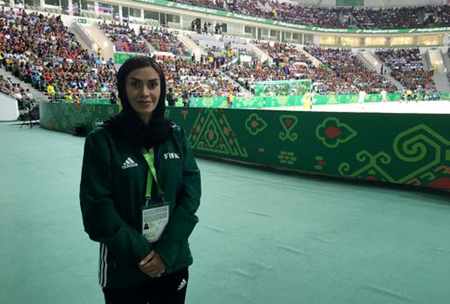 حضور داور بینالمللی ایران در بازیهای المپیک جوانان