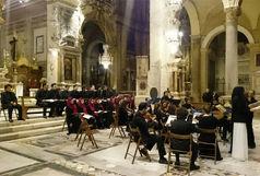 اجرای گروه کر ارکستر سمفونیک تهران یک کلیسا