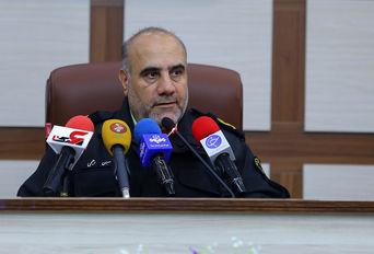 نشست خبری فرمانده انتظامی تهران بزرگ