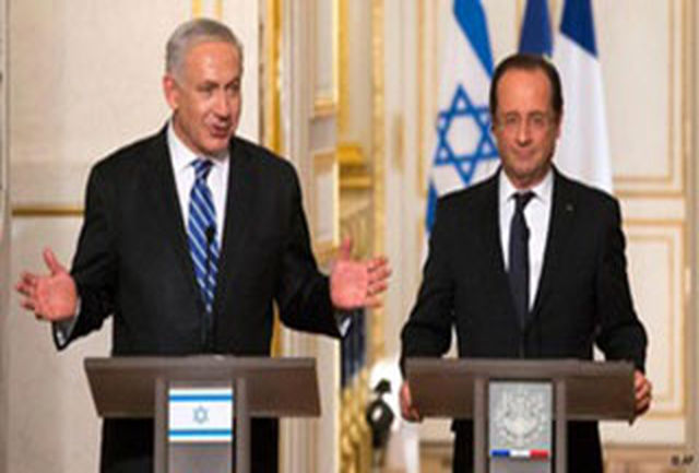 در کنفرانس خبری اولاند و نتانیاهو چه گذشت؟