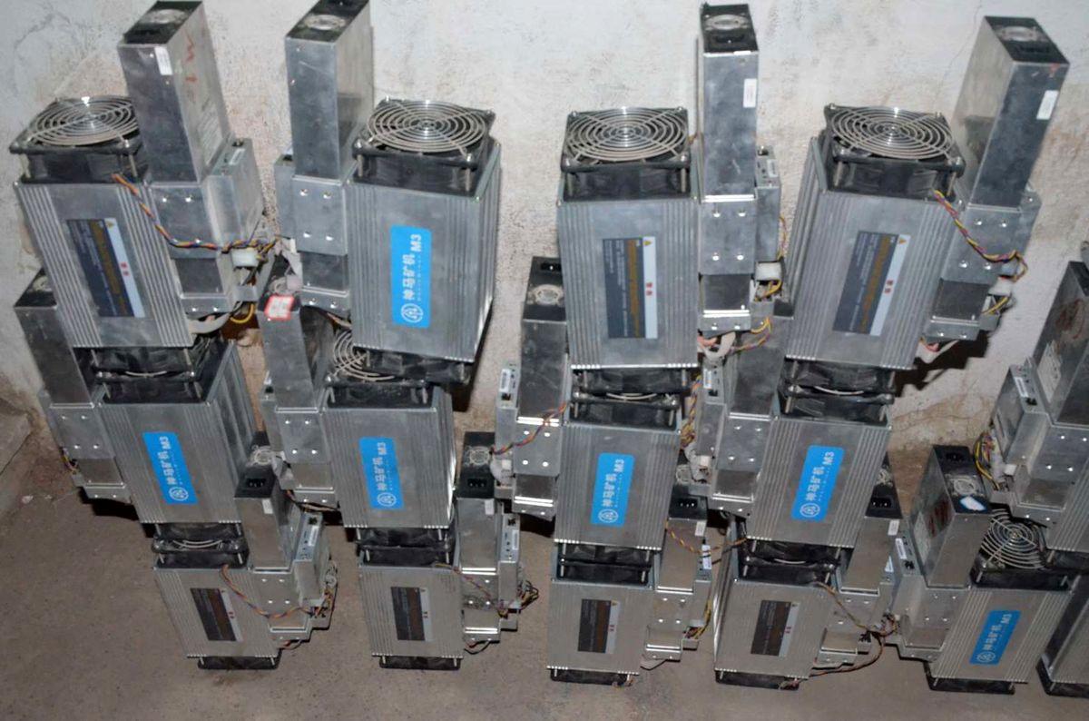 کشف و جمعآوری مزرعه غیرمجاز استخراج ارز دیجیتال در خوی