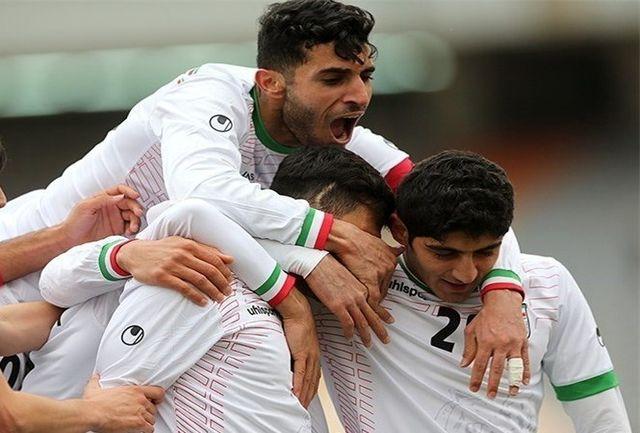 ترکیب تیم ملی فوتبال امید اعلام شد