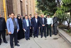وزیر ورزش و جوانان با حضور در دبیرستان البرز زنگ مهر را نواخت