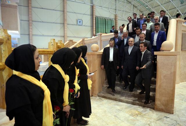ماحصل سفر وزیر ورزش و جوانان به استان