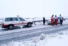 2600 نفر از مسافران گرفتار در برف و کولاک، در روستاها و شهرهای استان اسکان یافتند