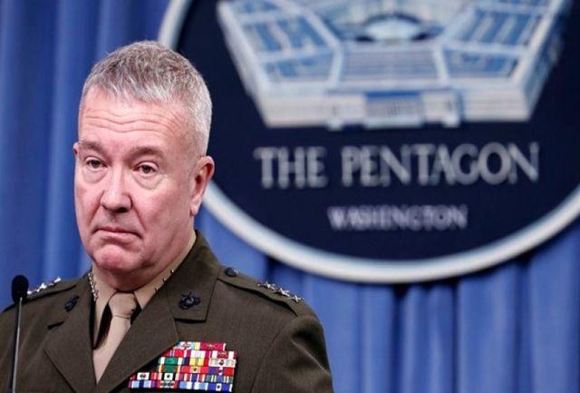 ادعا جدید فرمانده سنتکام علیه ایران