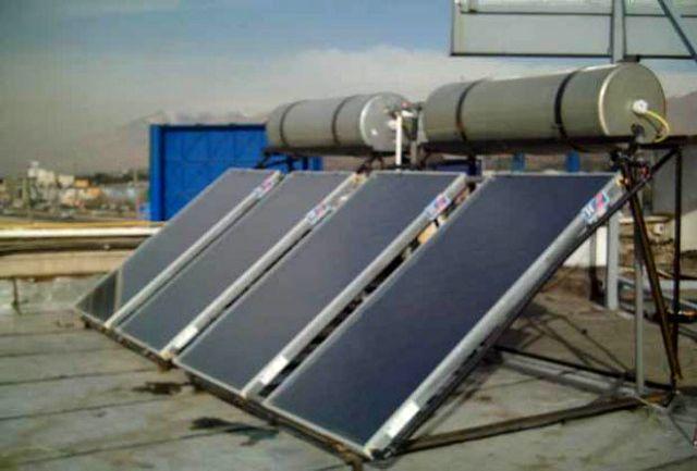 اجرای طرح سوخت جایگزین(نصب آبگرمکن خورشیدی) در حوزه آبخیز   حاجی آباد