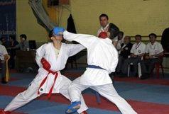 رقابتهای انتخابی تیم ملی کاراته دانشجویان پسر